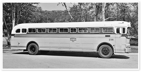 Runnymede Collegiate | Historic Toronto |Photos Old City Buses 1950