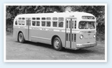 Historical photo of Santa Monica Bus