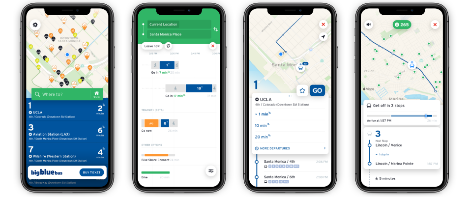 Track Your Ride In Real Time Big Blue Bus